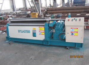 CNC Universal Upper Roller Rolling Machine